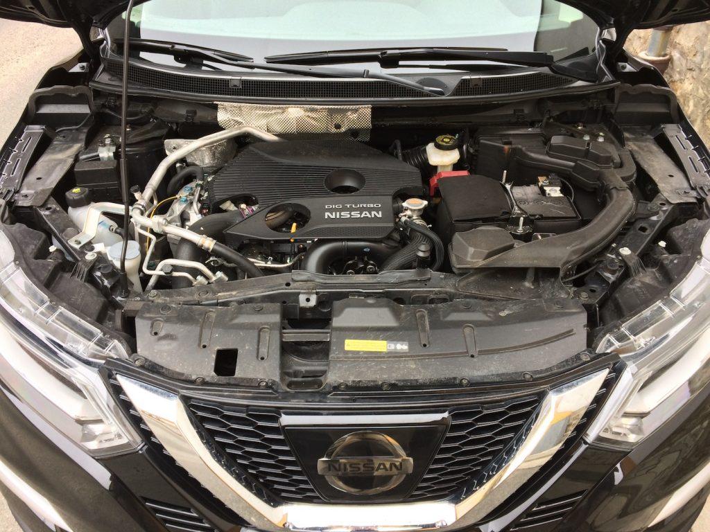 Nissan Qashqai 1,6 DIG-T 120 kW - motor
