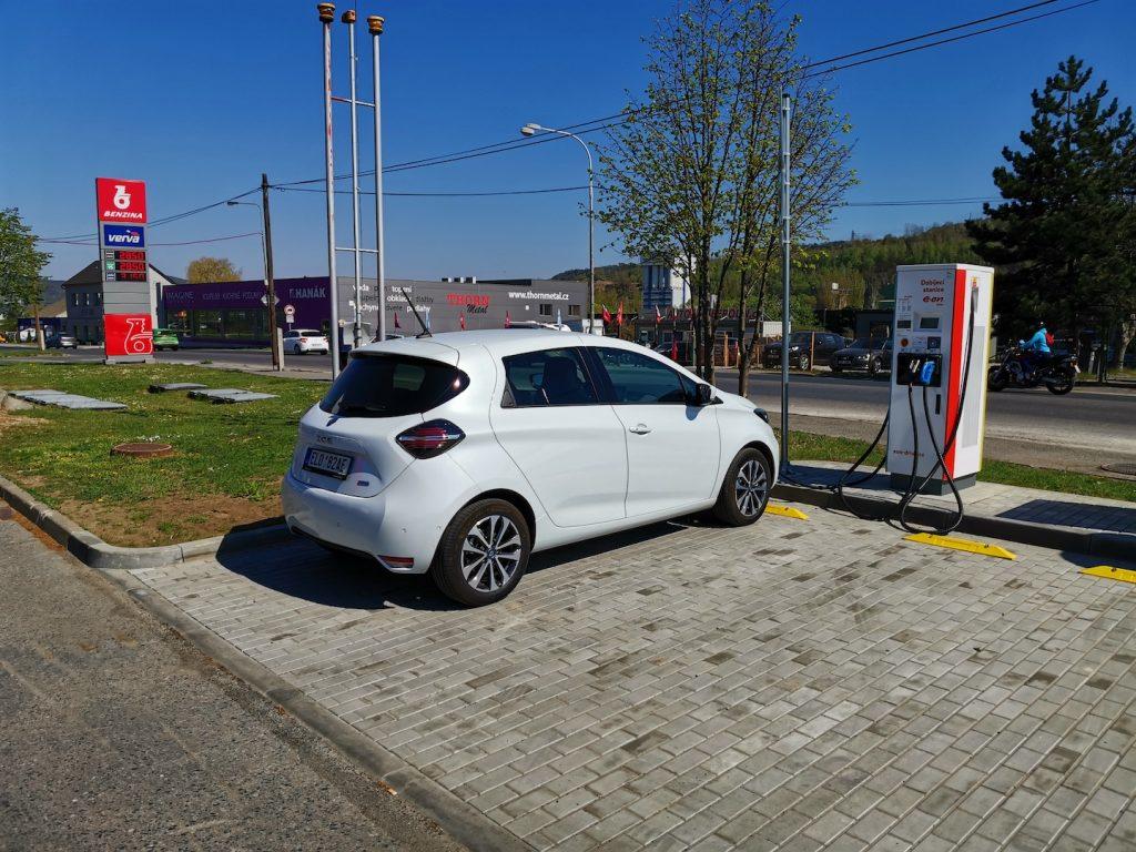 Renault ZOE - E.ON Beroun