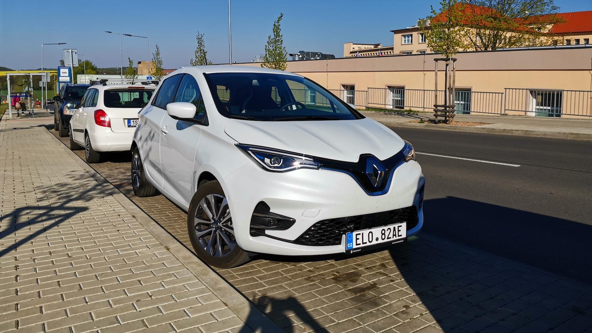 Renault ZOE - Nemocnice Hořovice