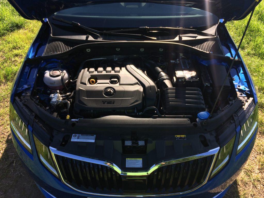 Škoda Octavia Combi motor 1.5 G-TEC 96 kW DSG