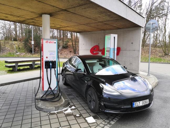 Tesla Model 3, Foto: Jiří Korec