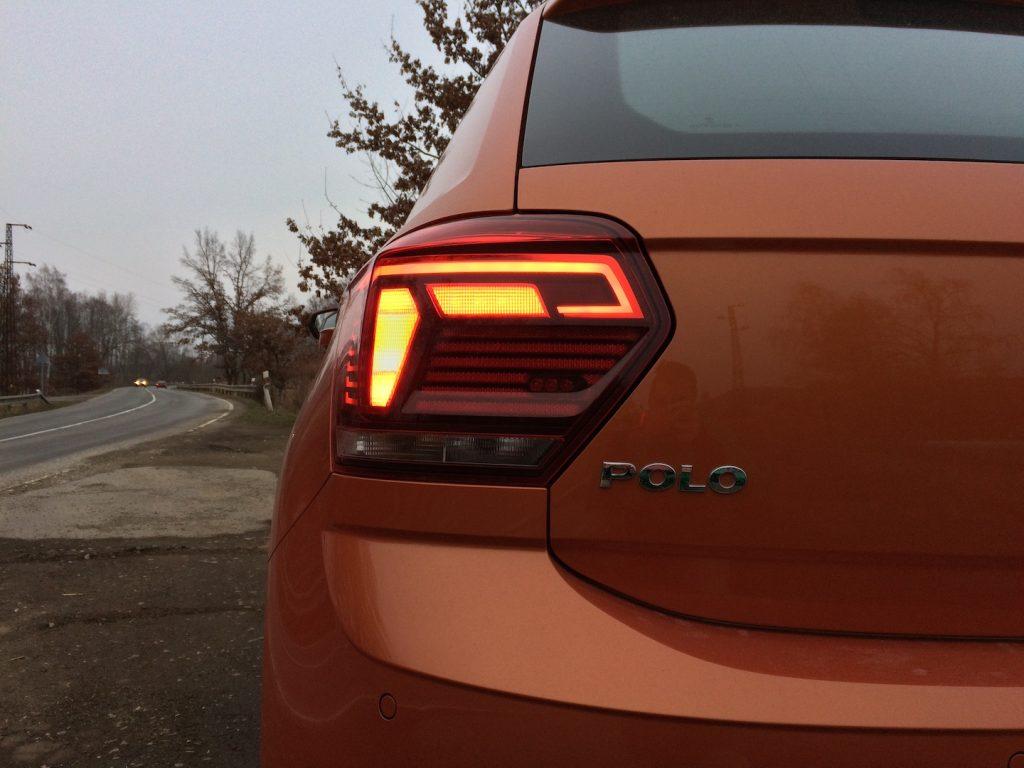 Volkswagen Polo 1.0 TSI 70 kW DSG7 – zadní světlo