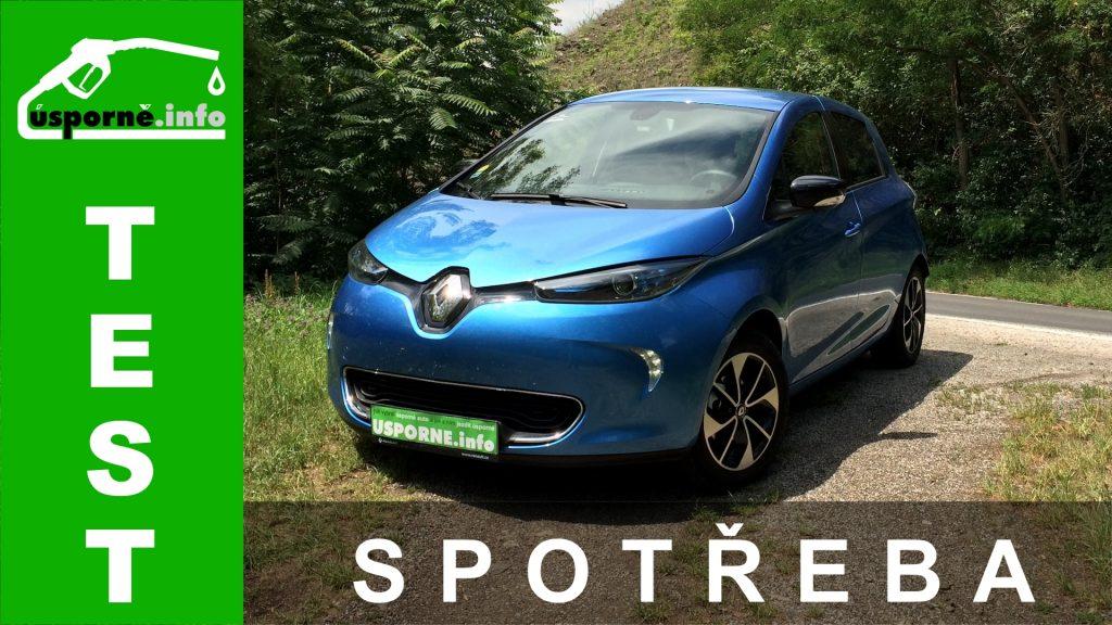 TEST: Renault ZOE R110 80 kW (41 kWh) – skutečná spotřeba