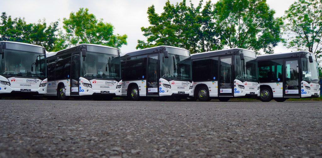 Autobusy Scania Citywide na CNG, ČSAD Havířov