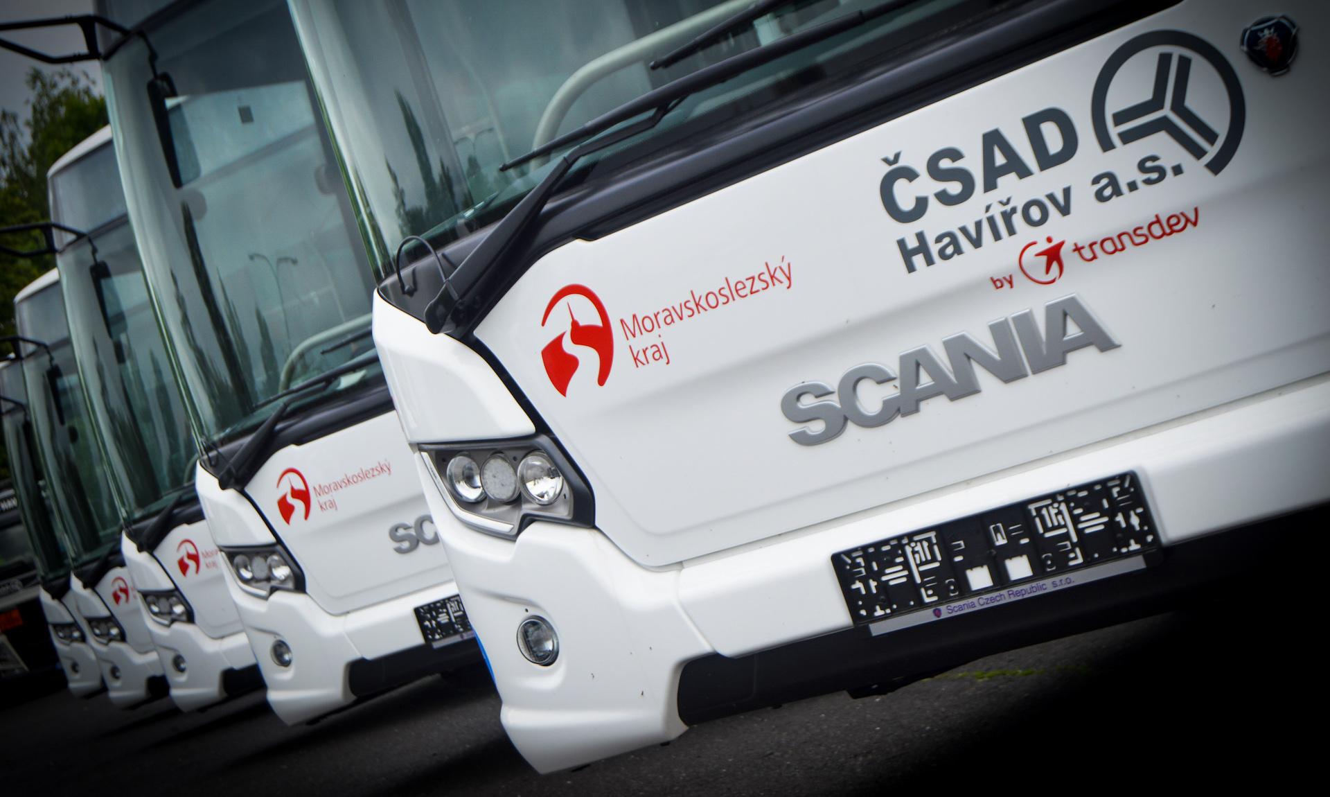 Autobusy Scania Citywide na CNG, ČSAD Havířov - předek