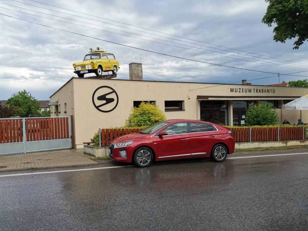 Hyundai Ioniq Plug-in hybrid - Nová Ves pod Pleší