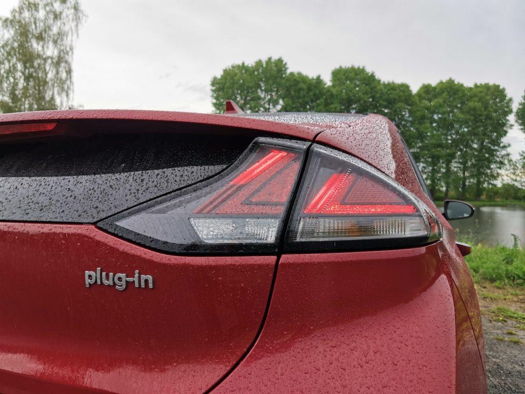 Hyundai Ioniq Plug-in hybrid - plaketka