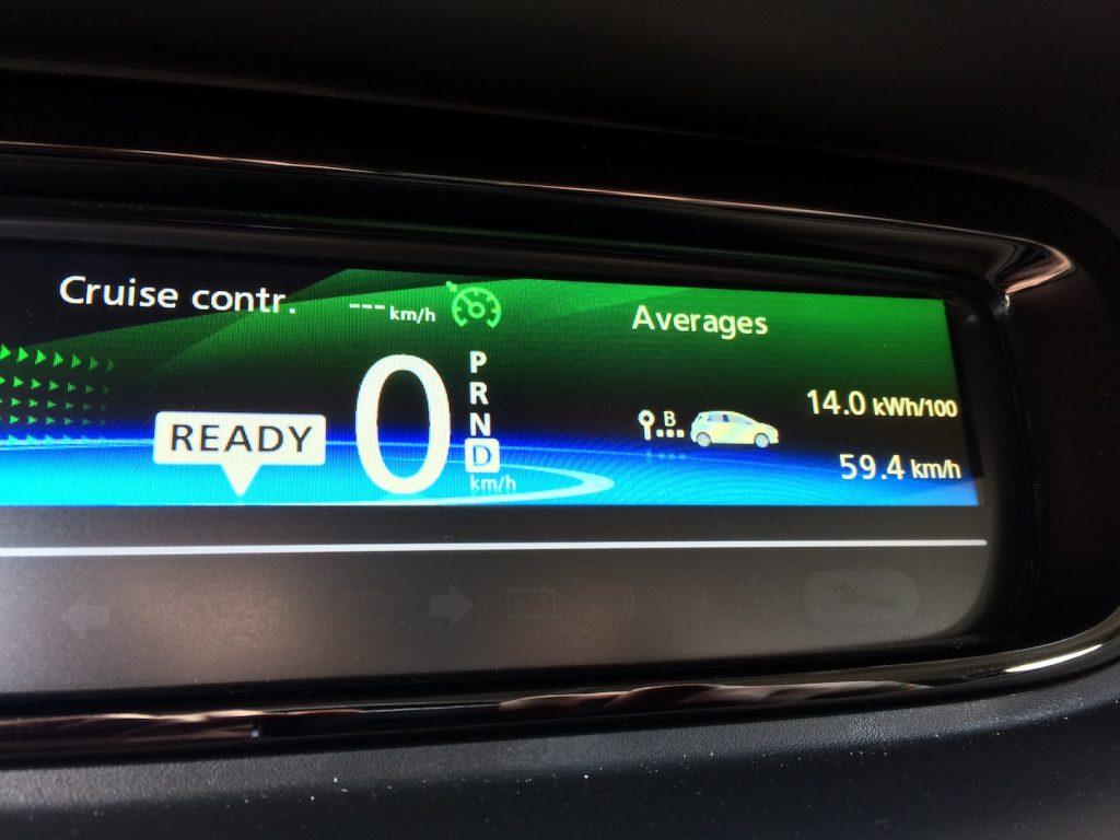 Renault ZOE R110 - skutečná spotřeba