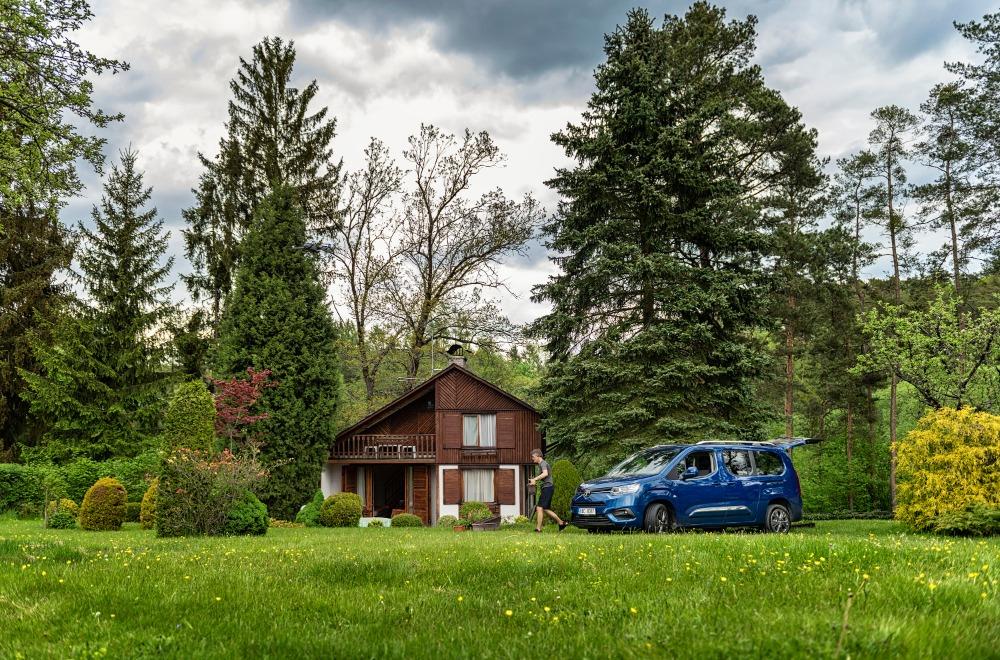 Cestování po Česku, Toyota Proce City
