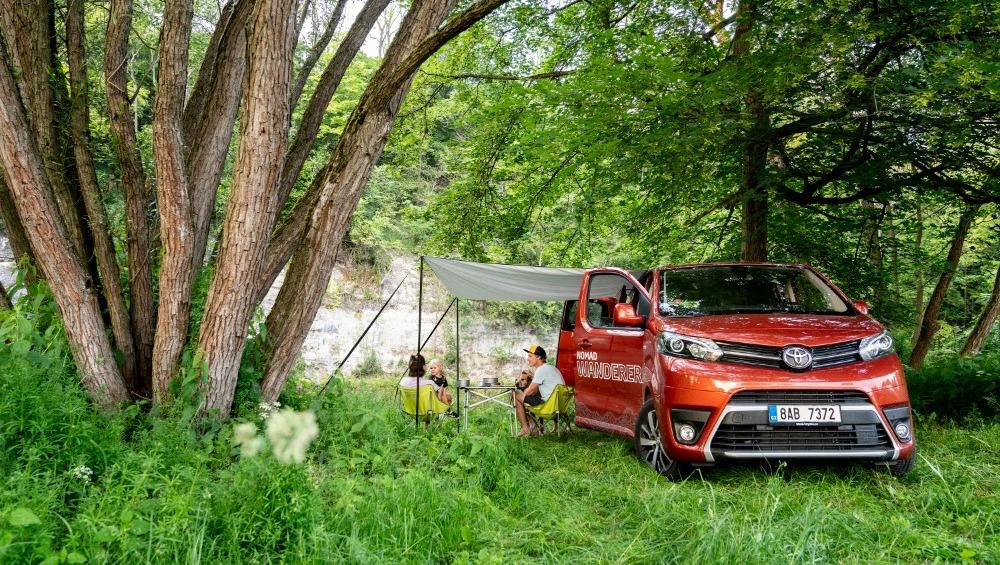Cestování po Česku, Toyota Proce Verso Wanderer