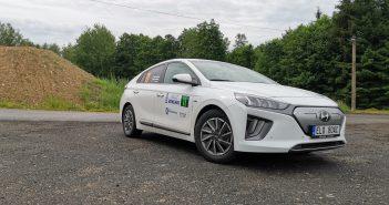 Hyundai Ioniq Electric #EcoRallyTeamCZ