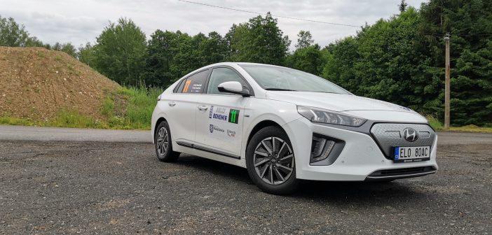 Na Eco Energy Rally Bohemia vyhrály soutěž spotřeby posádky a vozy s vyšší spotřebou