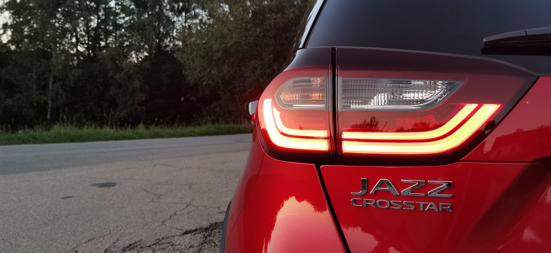 Honda Jazz Crosstar - plaketka