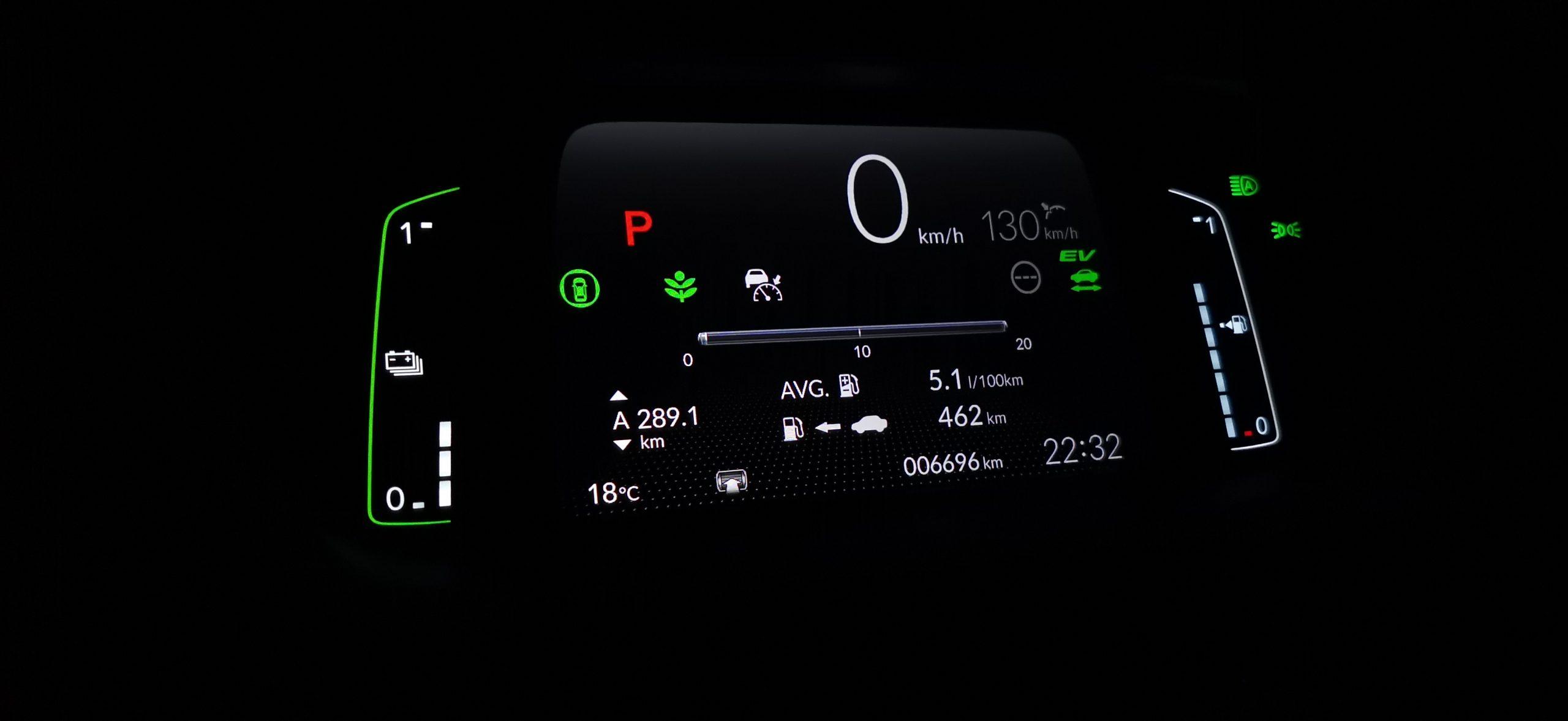 Honda Jazz Crosstar - spotřeba, dálnice