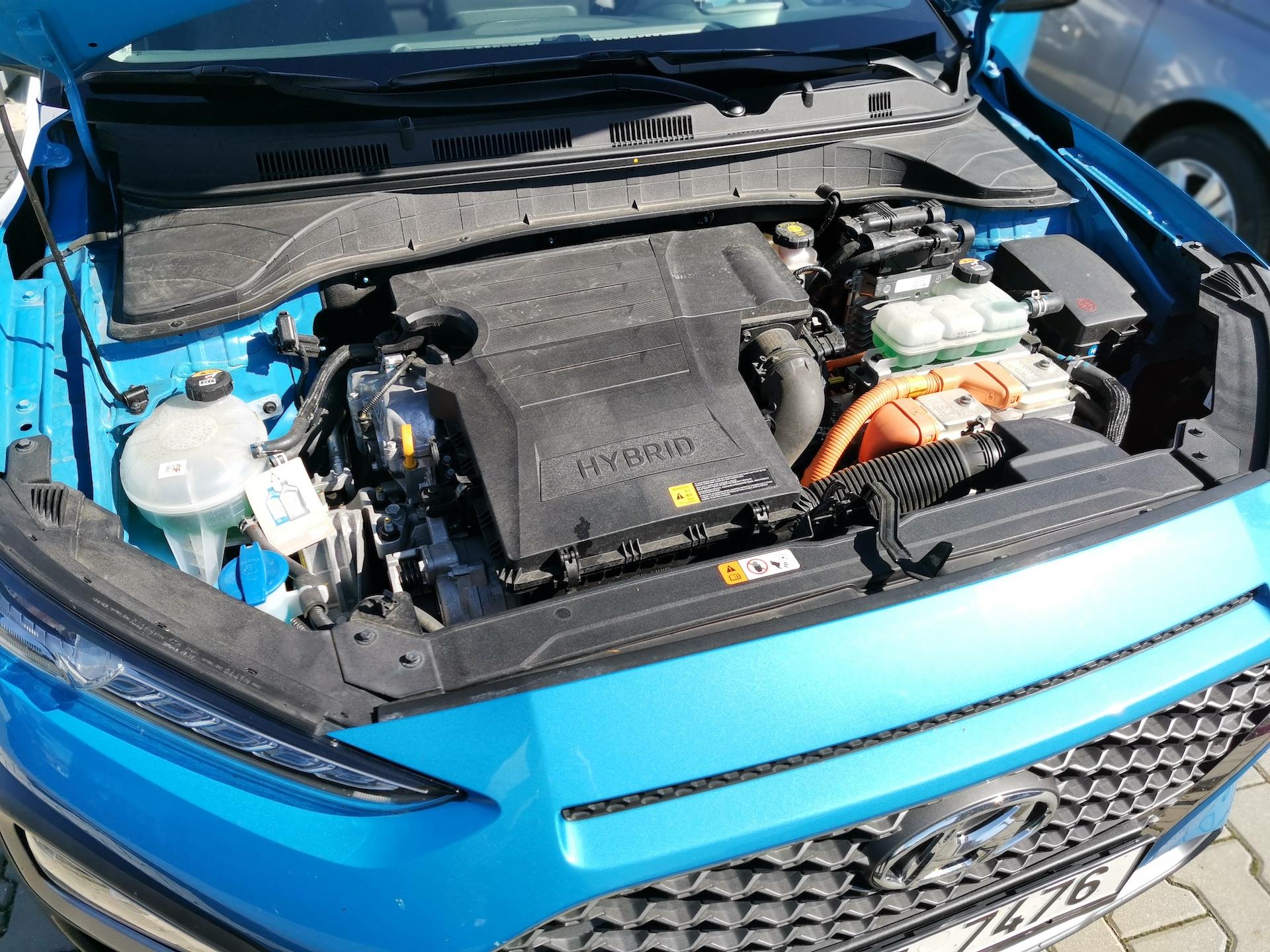 Hyundai Kona Hybrid - motor