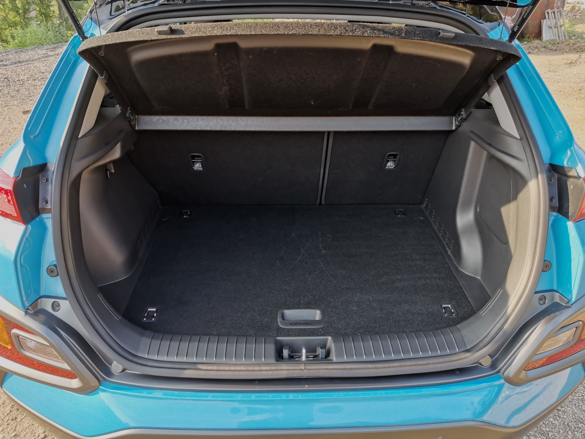 Hyundai Kona Hybrid - zavazadlový prostor