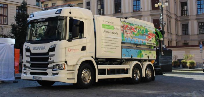 Scania na bioCNG - Praha
