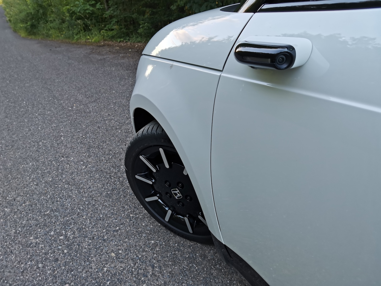 Honda e Advance - kamera místo zrcátka