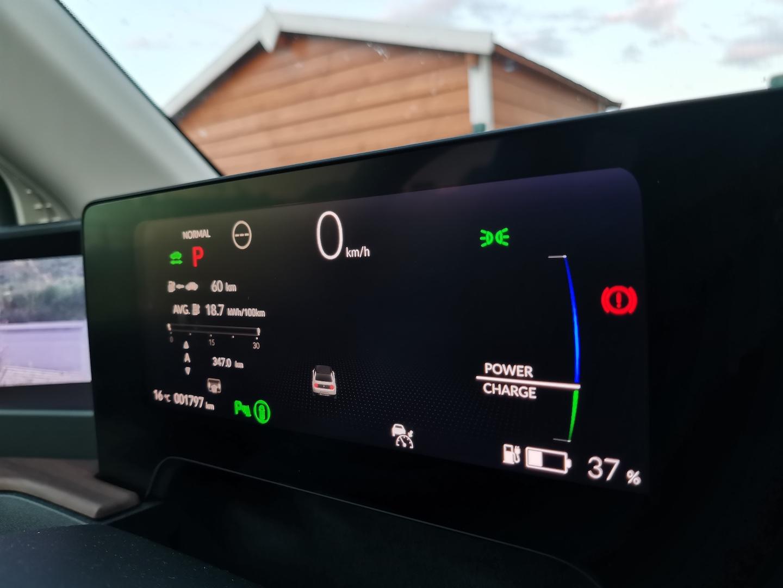 Honda e Advance - skutečná spotřeba