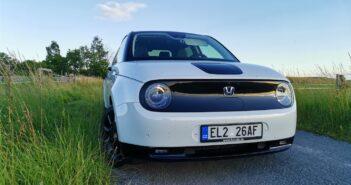 TEST: Elektromobil Honda e – skutečná spotřeba