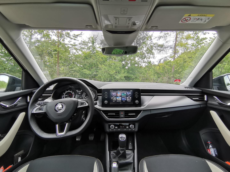 Škoda Kamiq G-TEC (CNG) - interiér