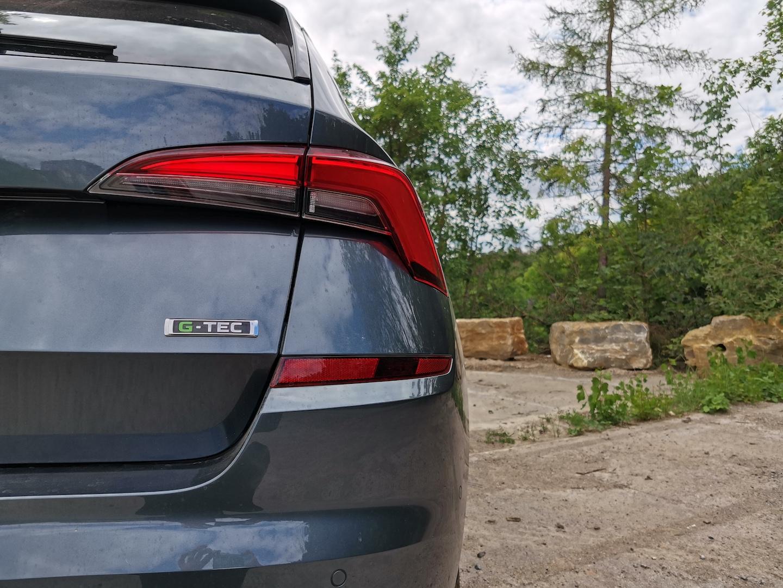 Škoda Kamiq G-TEC (CNG) - plaketka