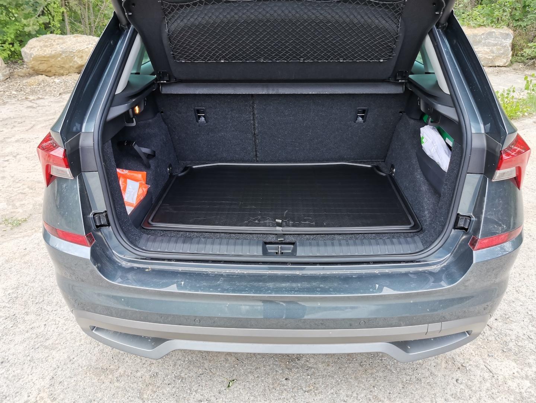 Škoda Kamiq G-TEC (CNG) - zavazadlový prostor