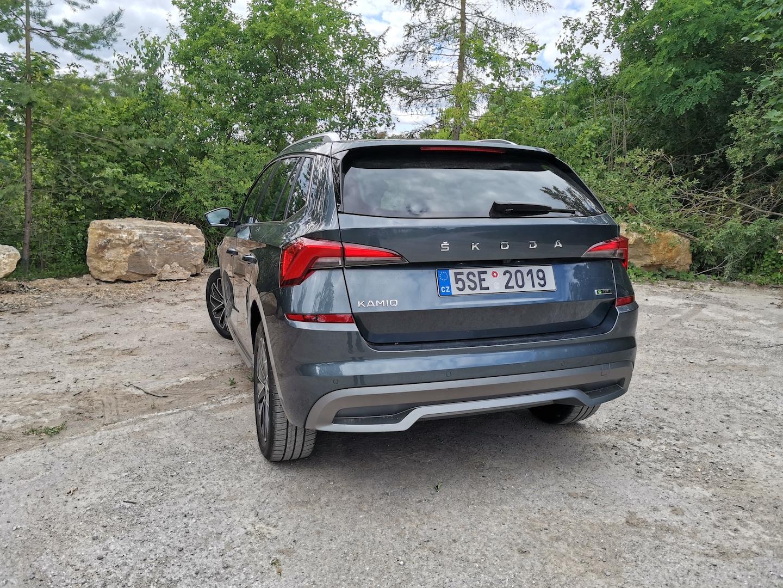 Škoda Kamiq G-TEC (CNG) - zezadu