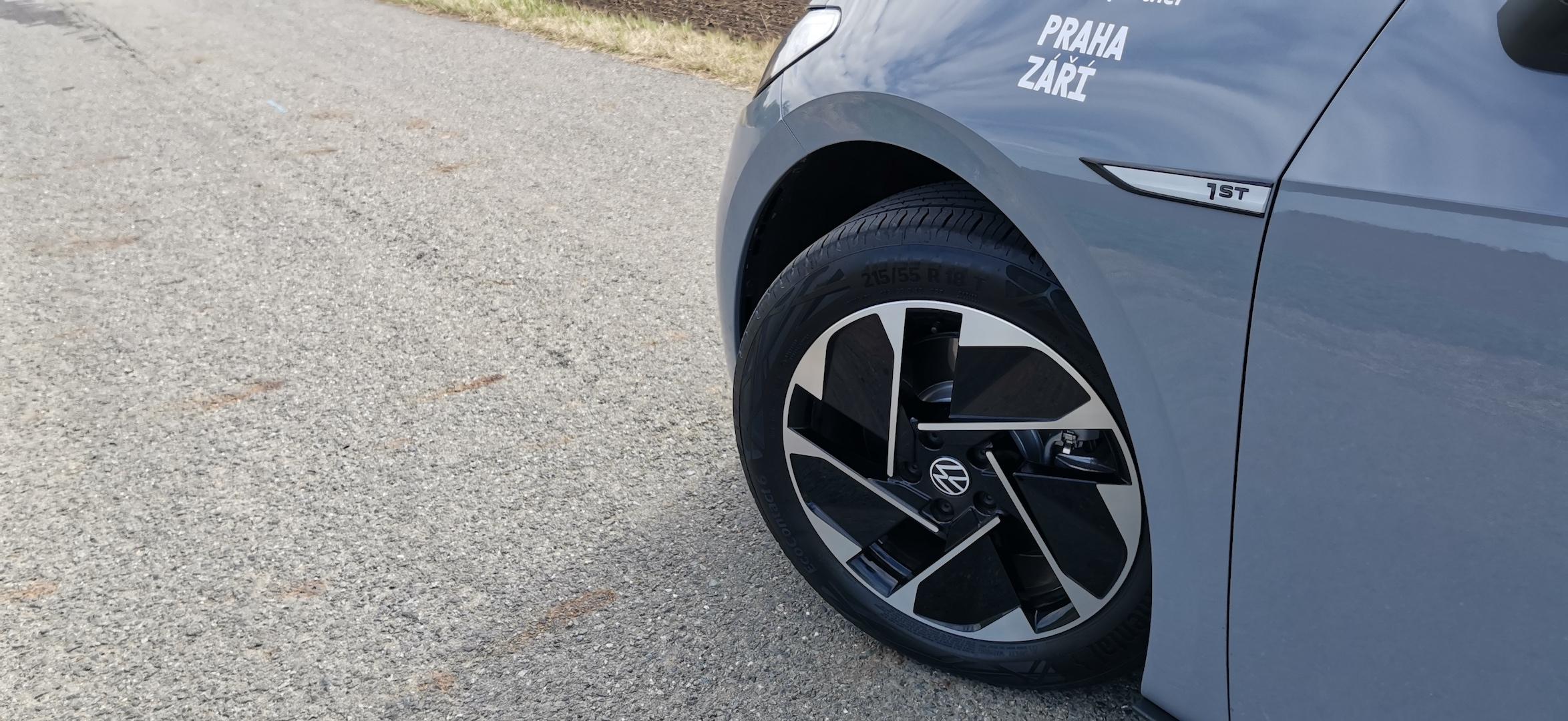 Volkswagen ID.3 - přední kolo