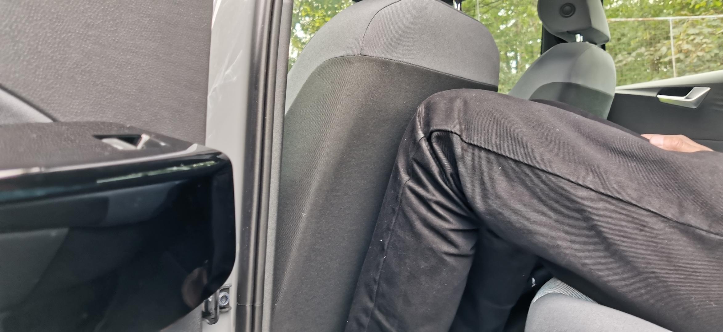 Volkswagen ID.3 - prostor na zadních sedačkách