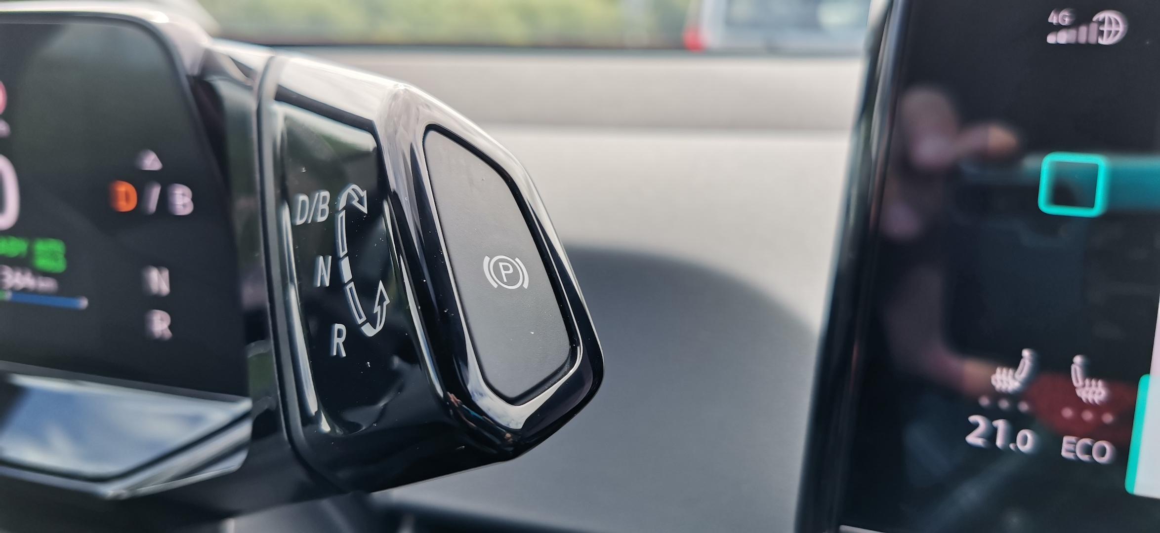 Volkswagen ID.3 - volič směru jízdy