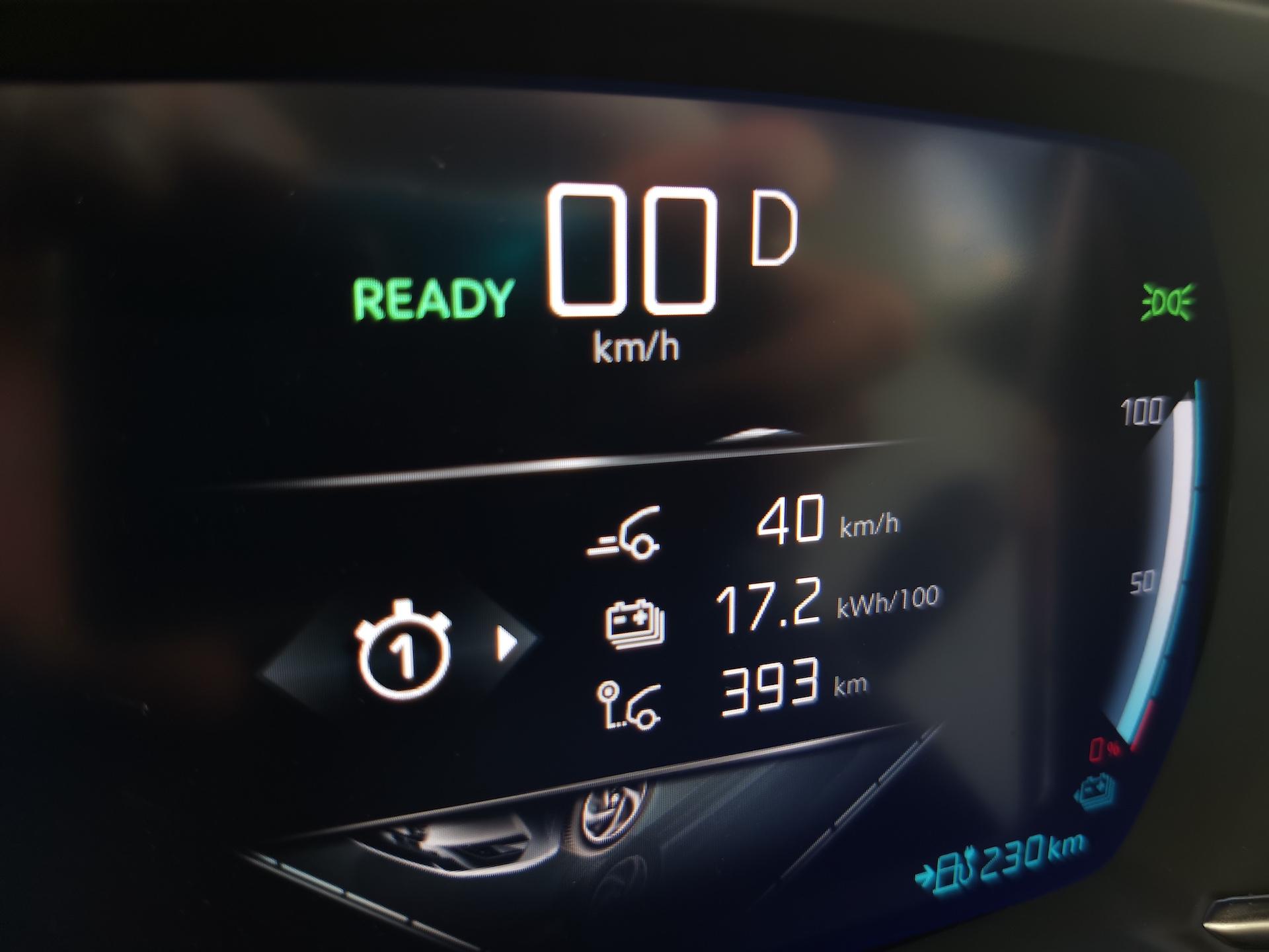 DS 3 Crossback E-Tense - skutečná spotřeba - test