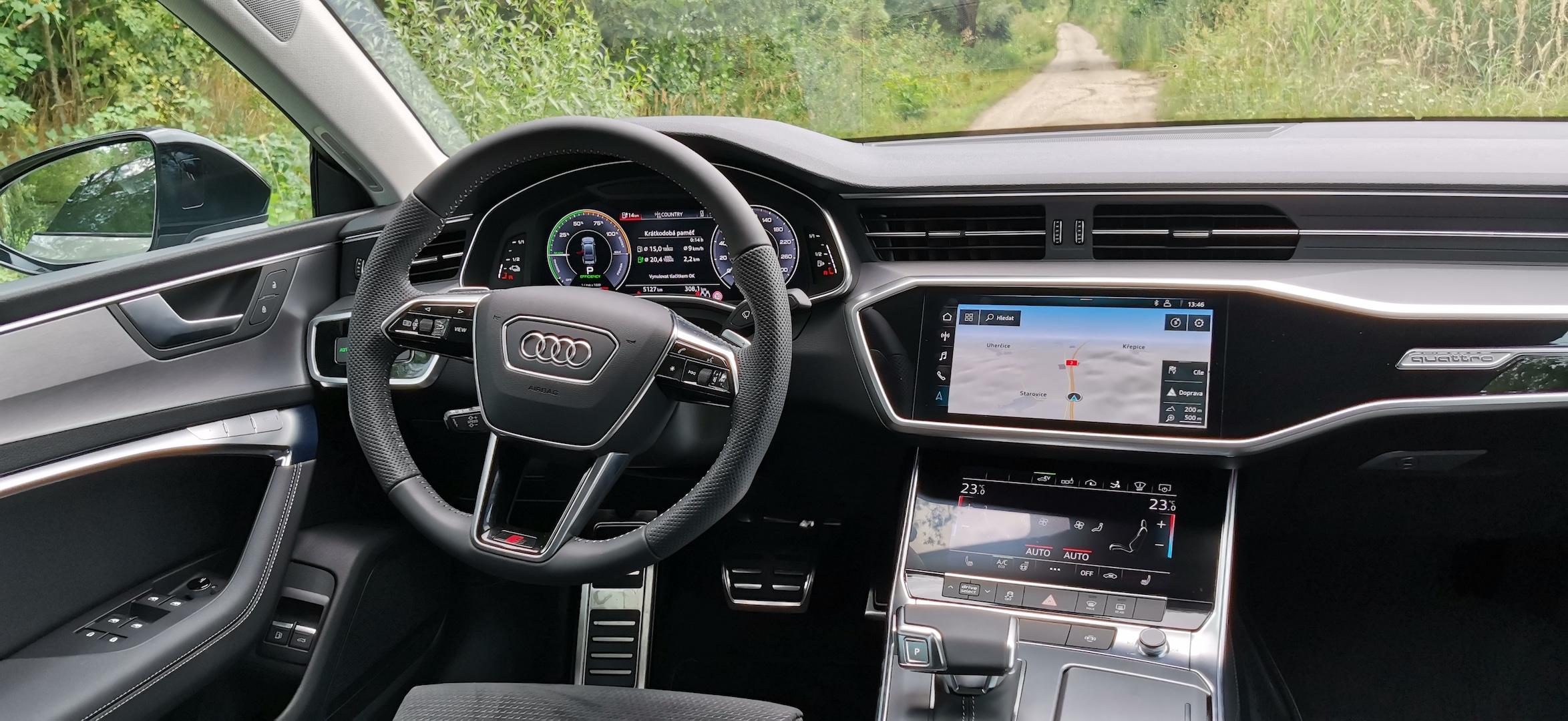Audi A7 Sportback 55 TFSI e Quattro - interiér