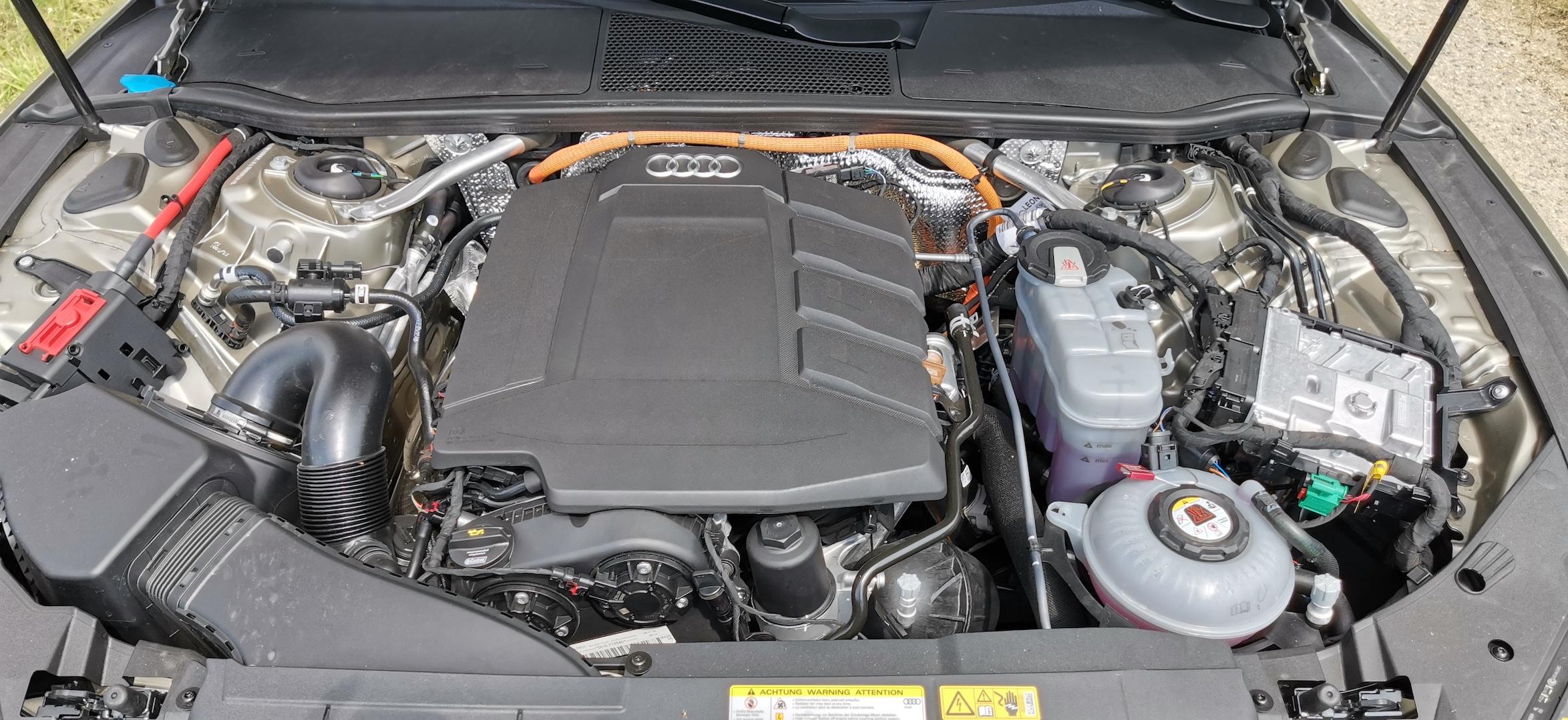 Audi A7 Sportback 55 TFSI e Quattro - motor