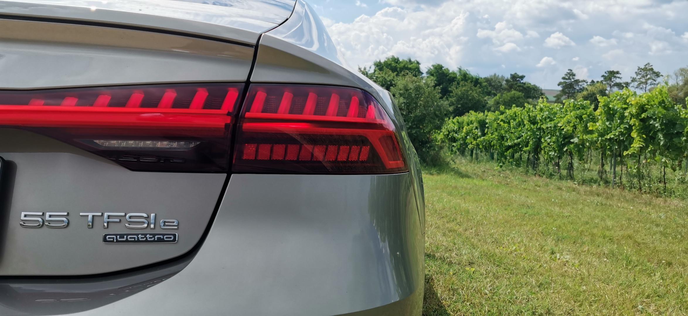 Audi A7 Sportback 55 TFSI e Quattro - označení motorizace