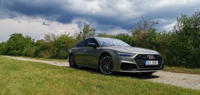 TEST: Audi A7 55 TFSI e Quattro (plug-in hybrid) – skutečná spotřeba