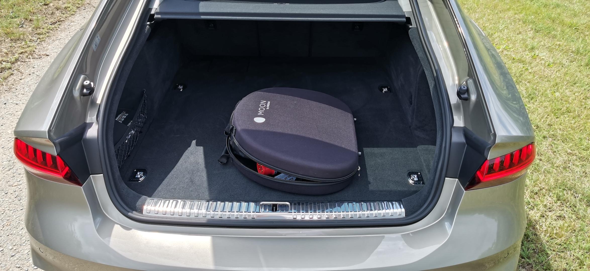 Audi A7 Sportback 55 TFSI e Quattro - zavazadlový prostor