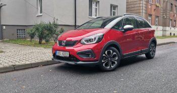 TEST: Honda Jazz Crosstar e:HEV (hybrid) – skutečná spotřeba
