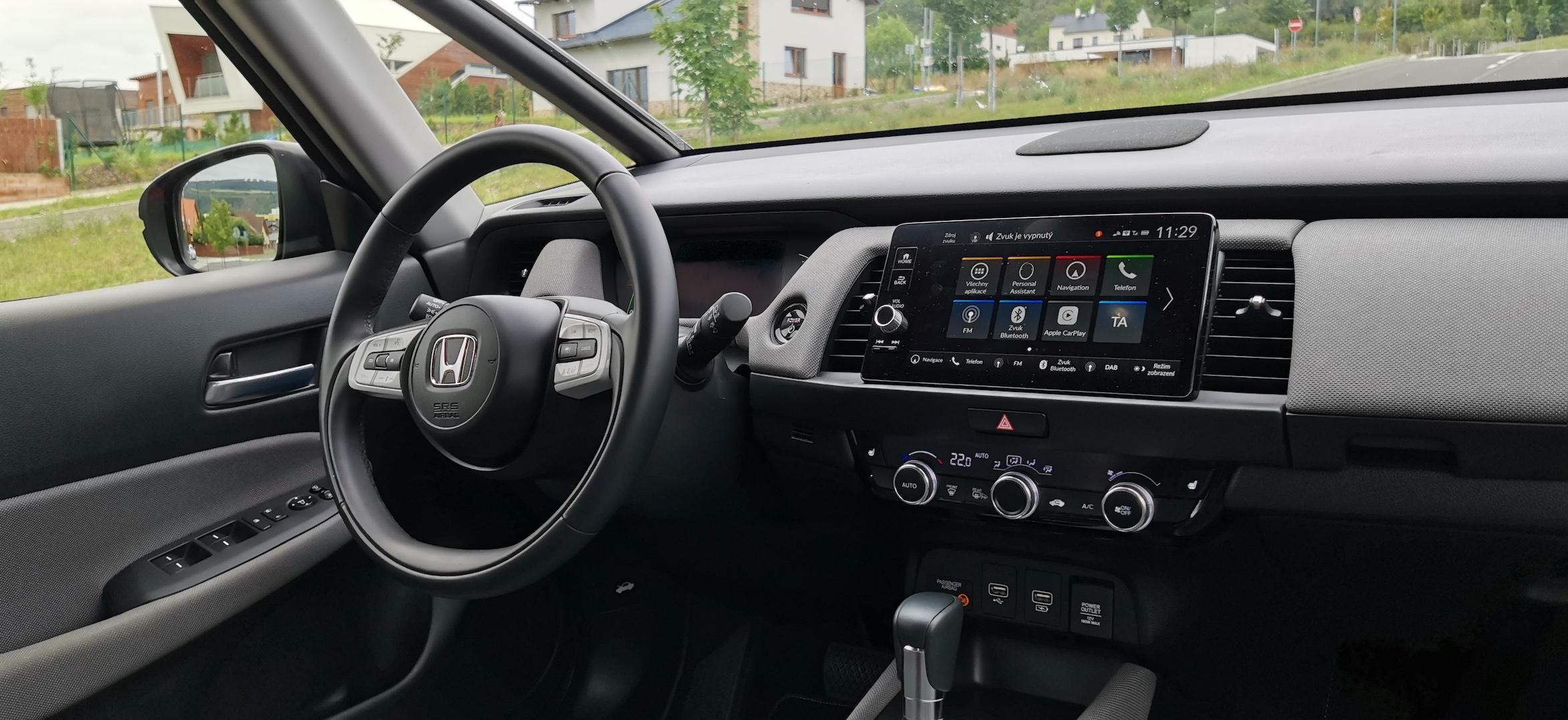 Honda Jazz Hybrid Crosstar - interiér