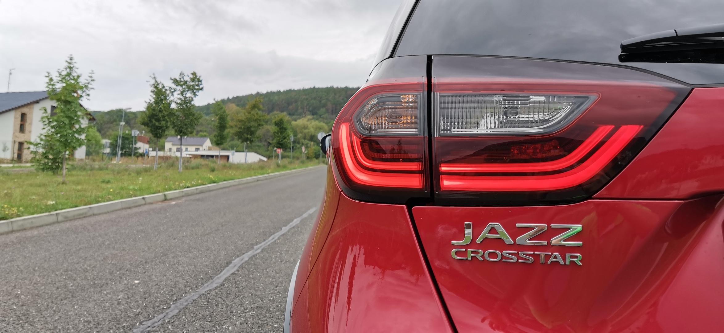 Honda Jazz Hybrid Crosstar - označení modelu