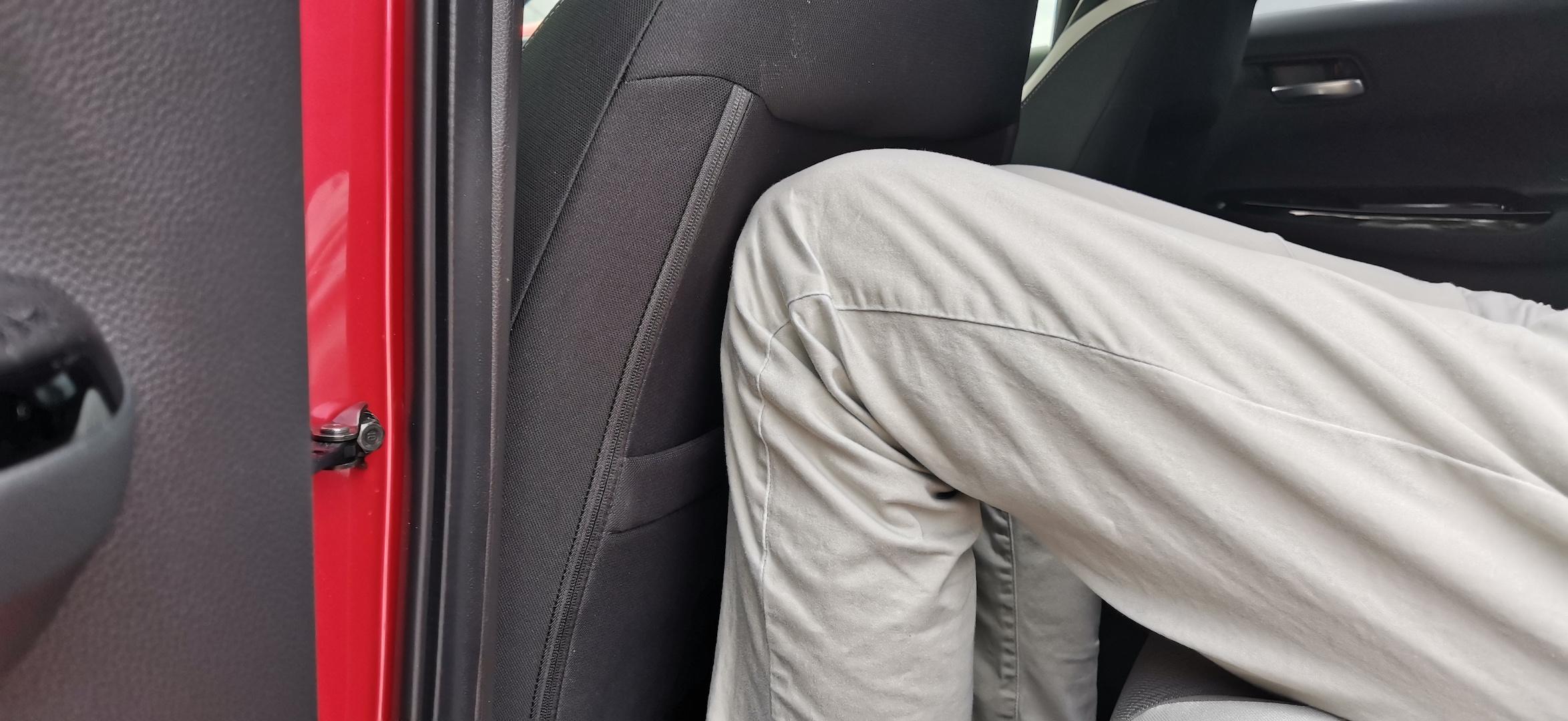Honda Jazz Hybrid Crosstar - prostor vzadu