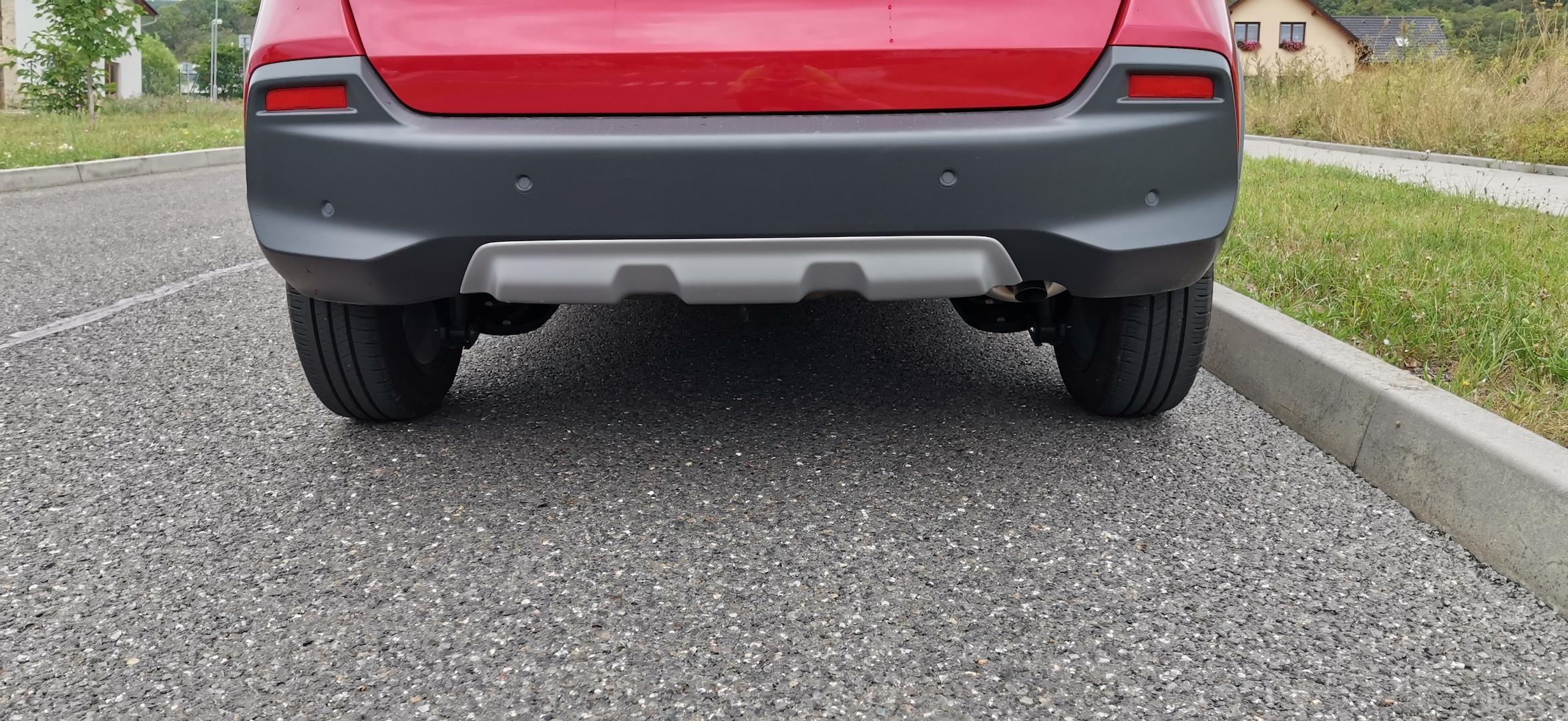 Honda Jazz Hybrid Crosstar - zadní nárazník