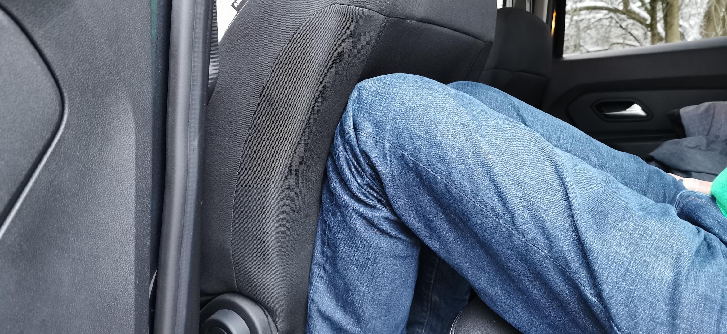 Dacia Duster TCe 100 LPG - prostor vzadu
