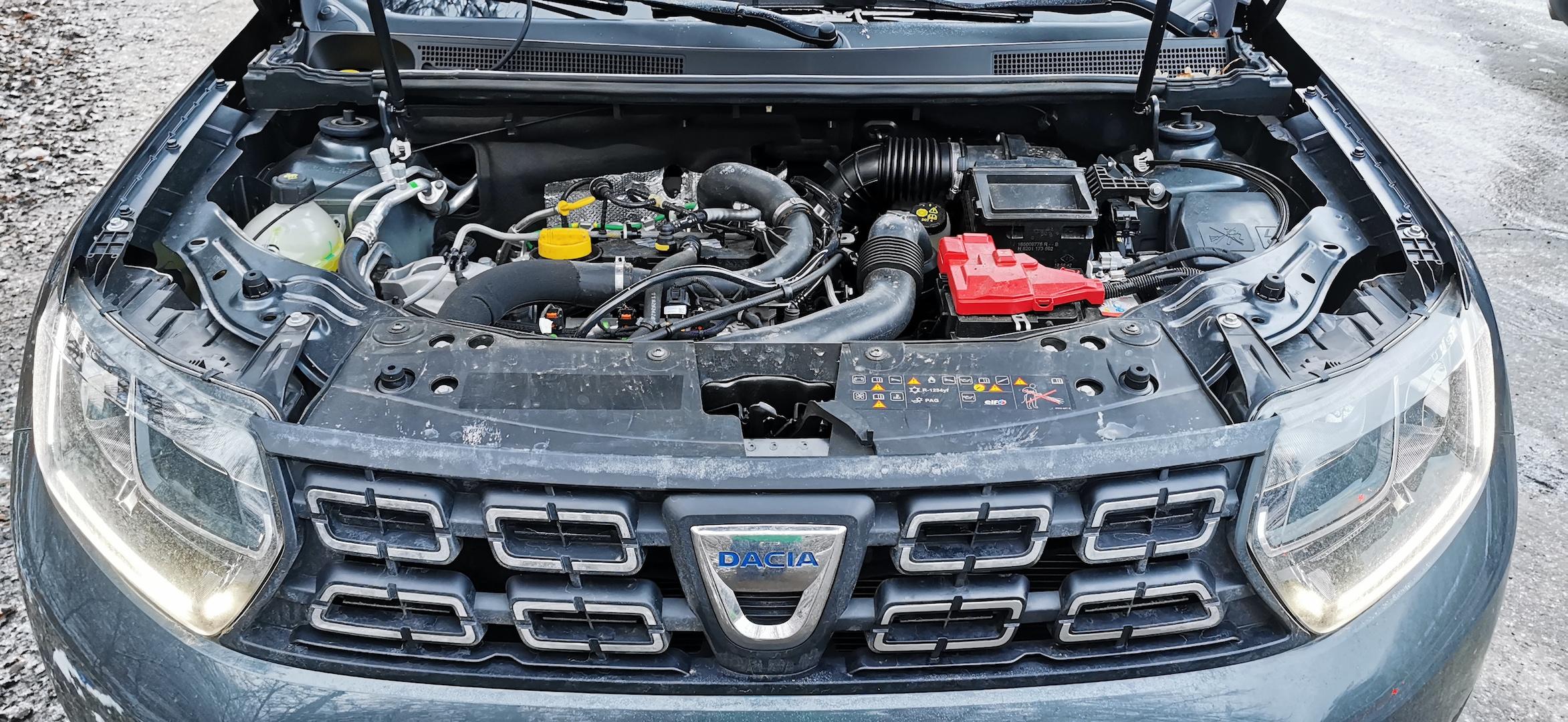 Dacia Duster TCe 100 LPG - motor