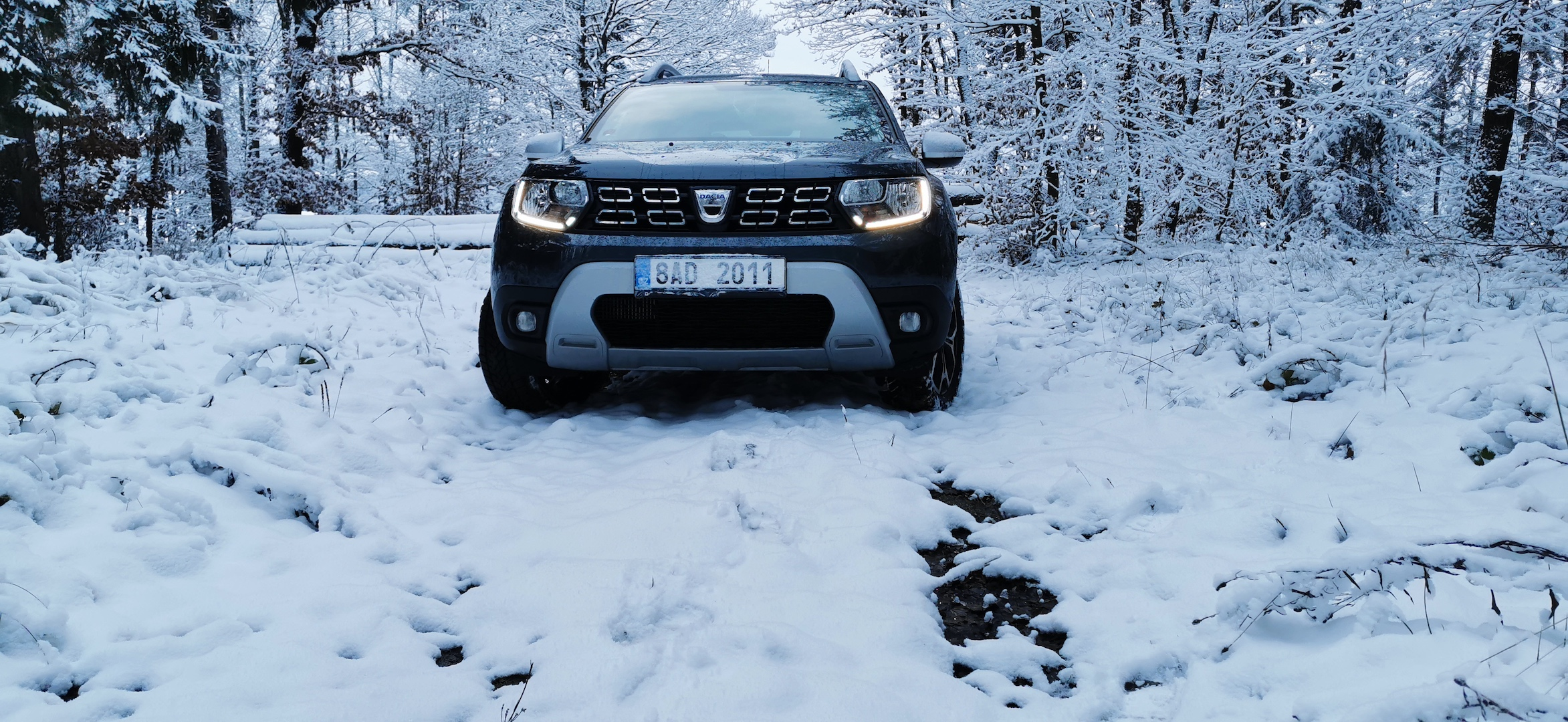 Dacia Duster TCe 100 LPG - zepředu