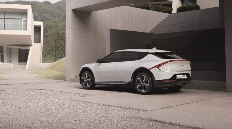 elektromobil Kia EV6 - zezadu
