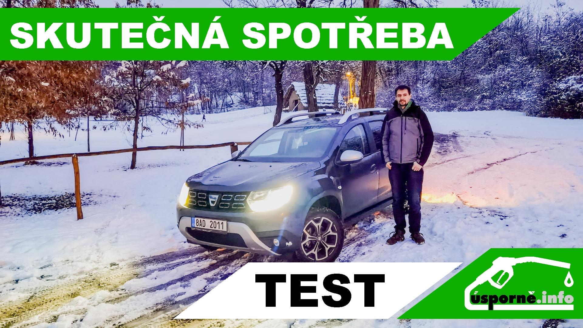 Dacia Duster TCe 100 LPG - skutečná spotřeba