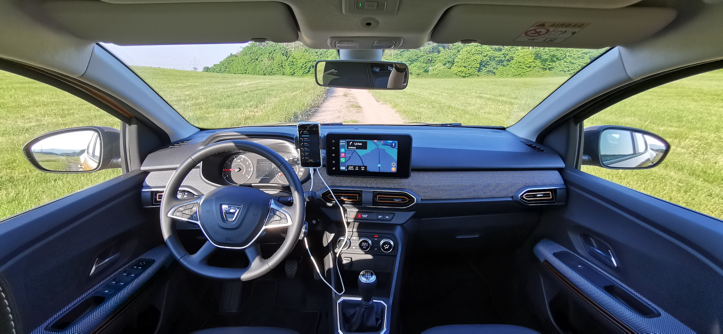 Dacia Sandero Stepway 1,0 TCe LPG - interiér