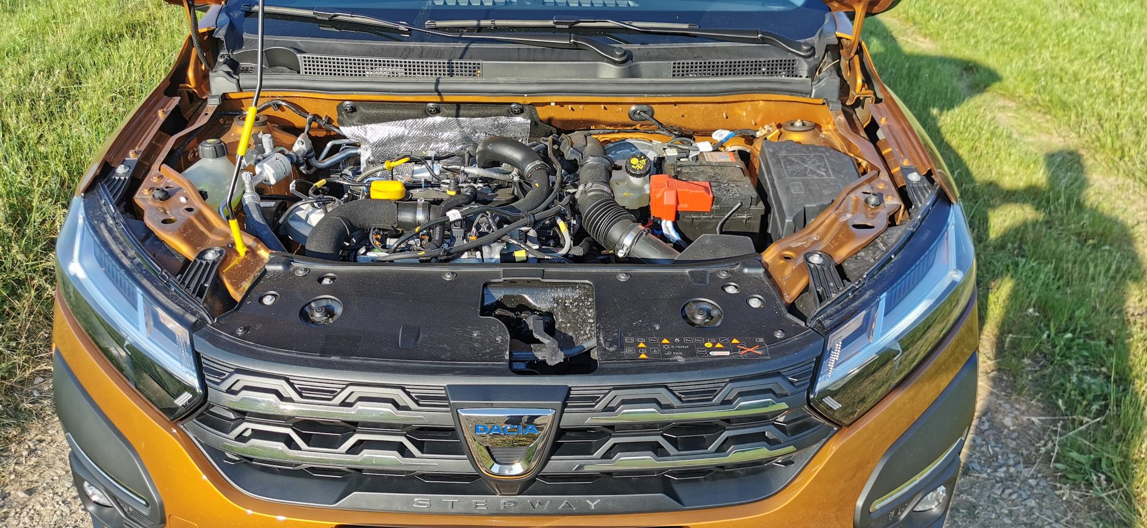 Dacia Sandero Stepway 1,0 TCe LPG - motor