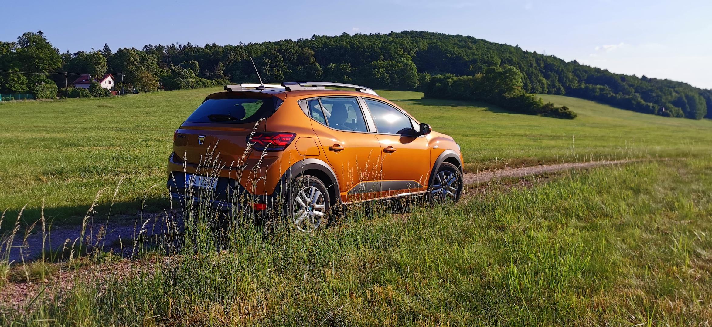 Dacia Sandero Stepway 1,0 TCe LPG zezadu